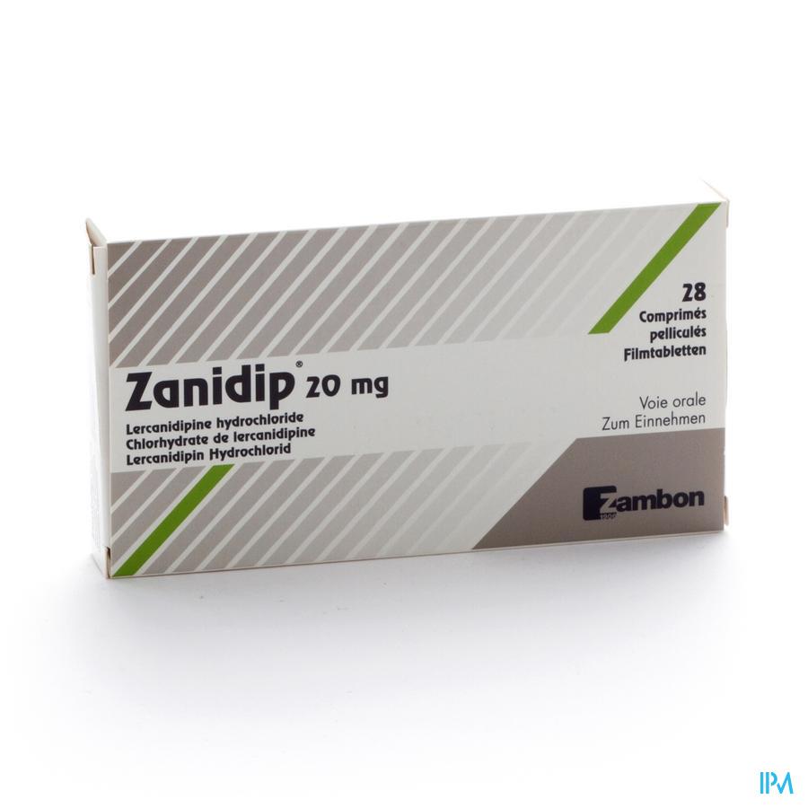 Zanidip Comp 28 X 20mg