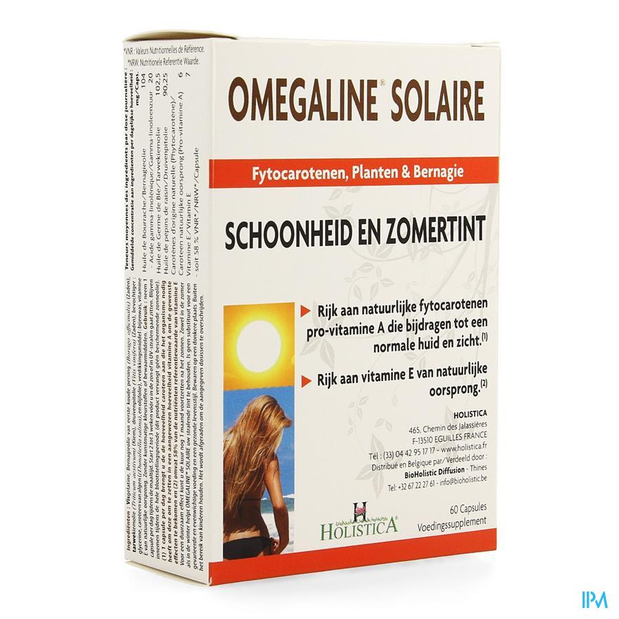Omegaline Solaire Caps 60 Holistica