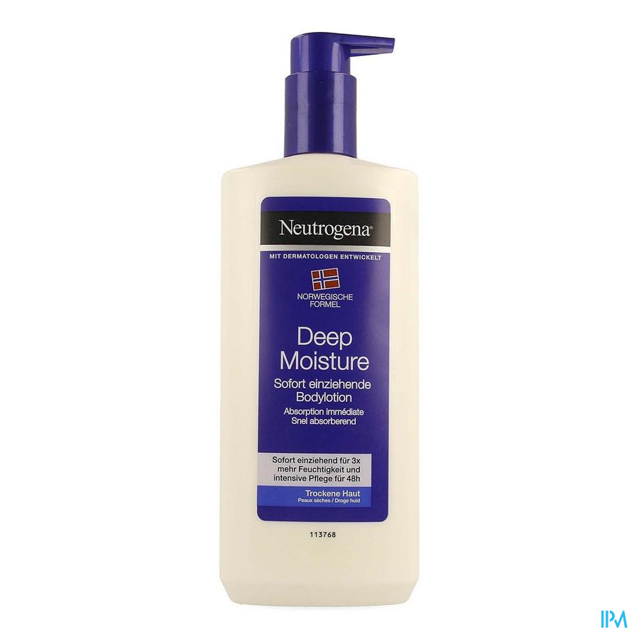 Neutrogena N/f Bodylotion Droge Huid 400ml