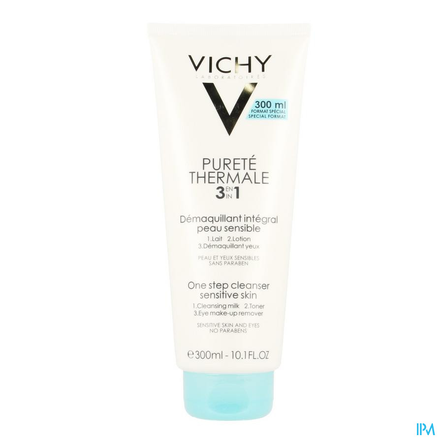 Vichy Pt Demaquillant Integral 3en1 300ml