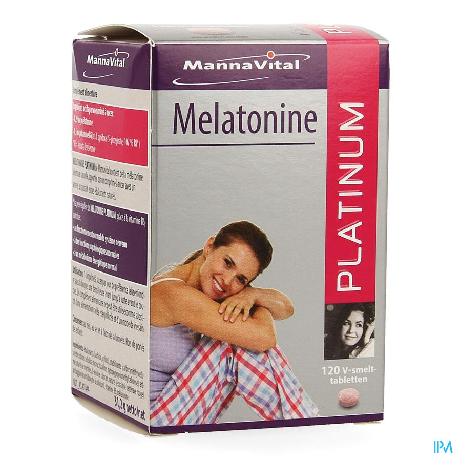 MANNAVITAL MELATONINE 120 TABL