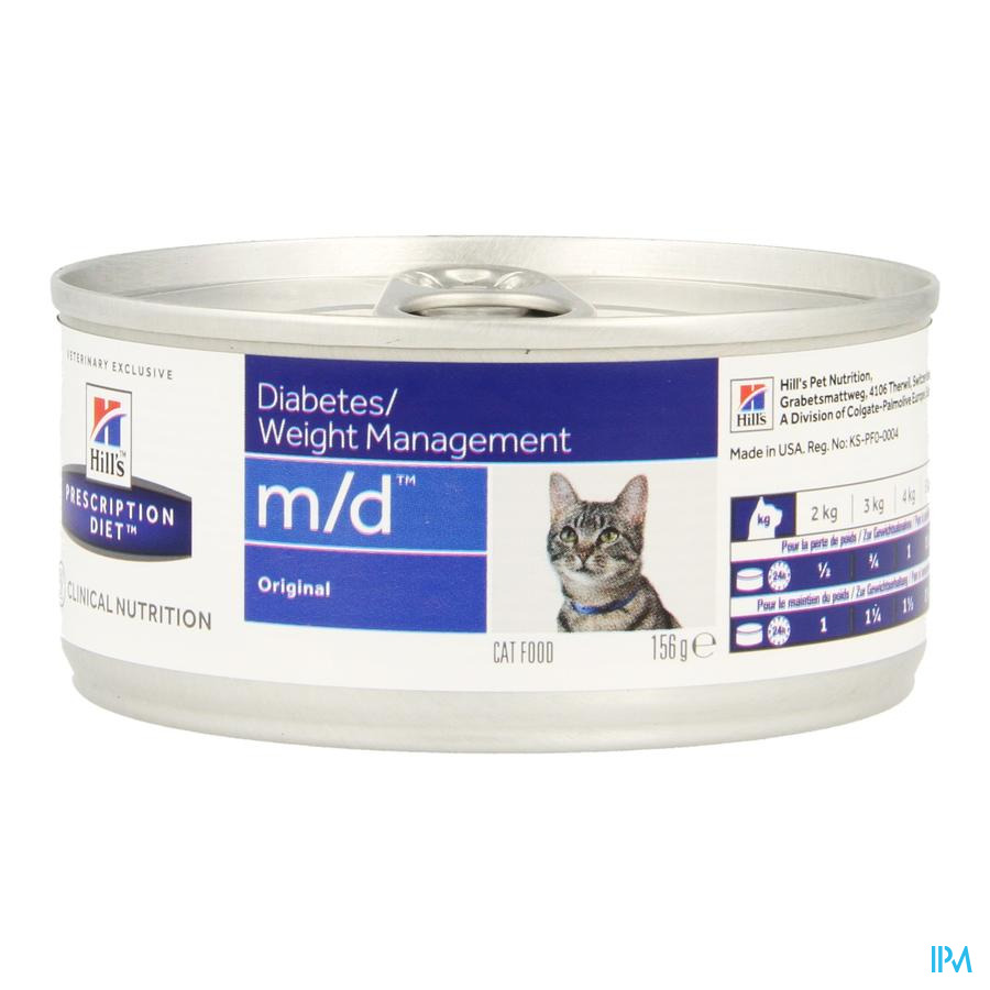Hills Prescrip.diet Feline Md Minced 156g 4281g