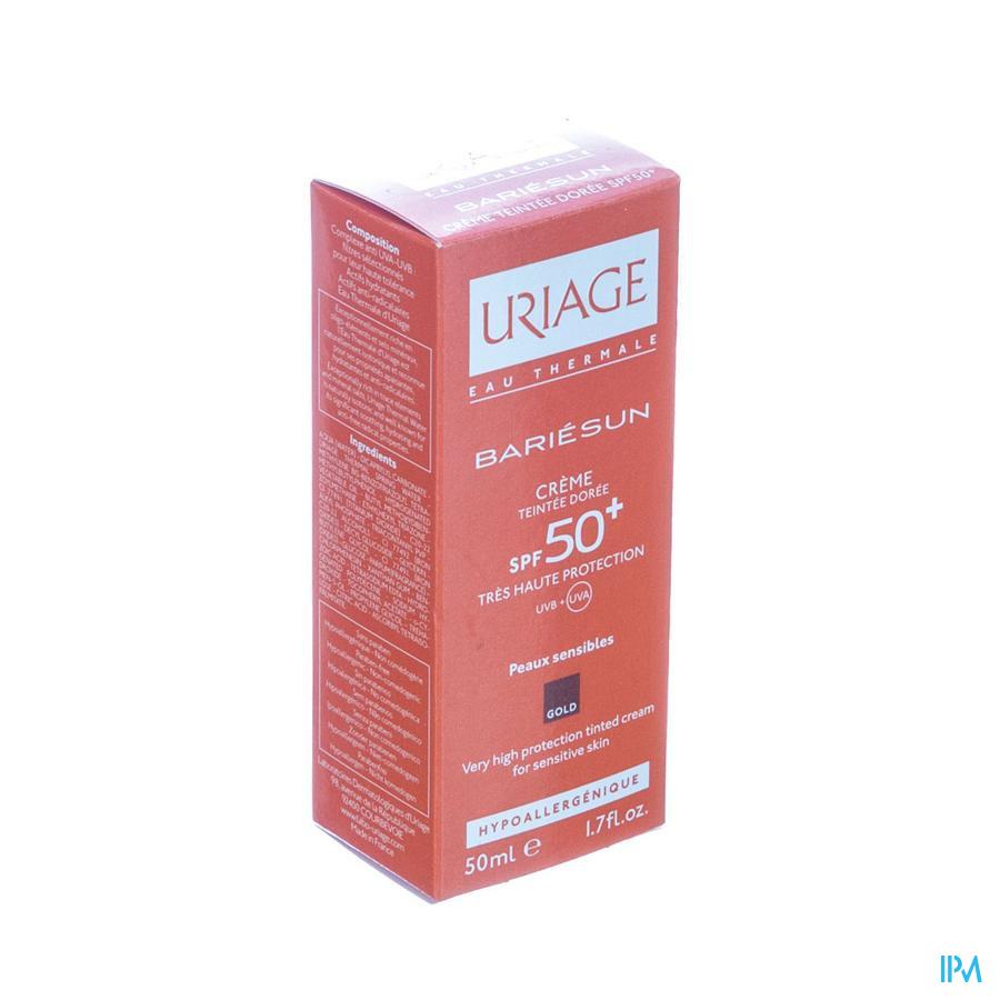 Uriage Bariesun Cr Teintee Doree Ip50+ P Sens 50ml
