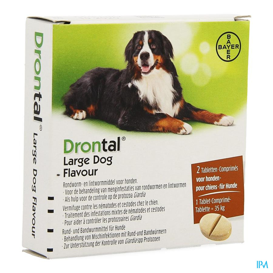 Drontal Large Dog Flavour Tabl 2