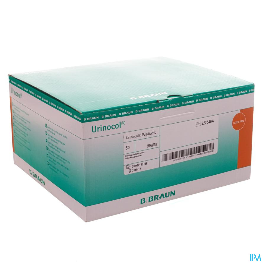Urinocol Zakjes Jongens + Afvloeiing 50 227546s