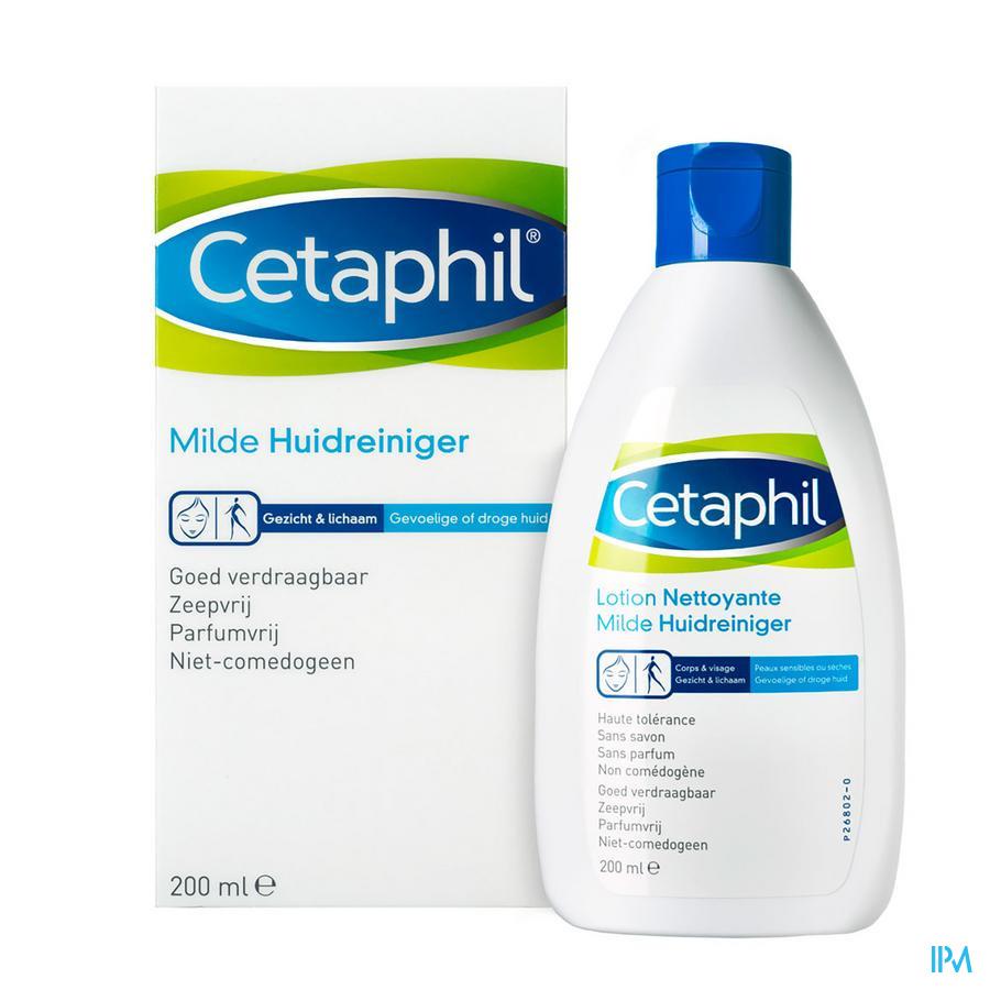 Cetaphil Milde Huidreiniger 200ml