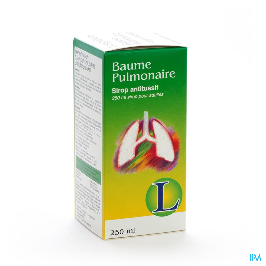 Baume Pulmonaire Sir Ad 250ml