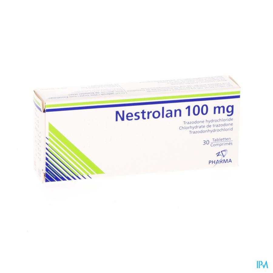 Nestrolan Tabl 30 X 100mg