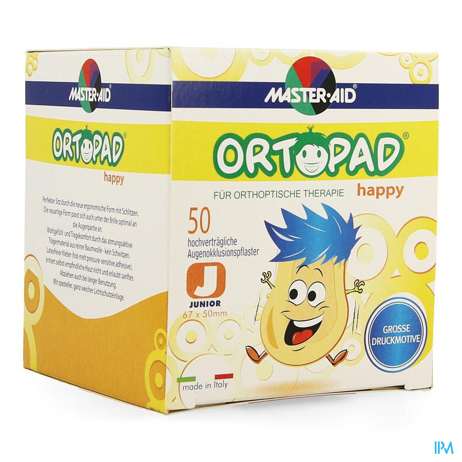 Ortopad Happy Junior Cp Ocul. 50 70131