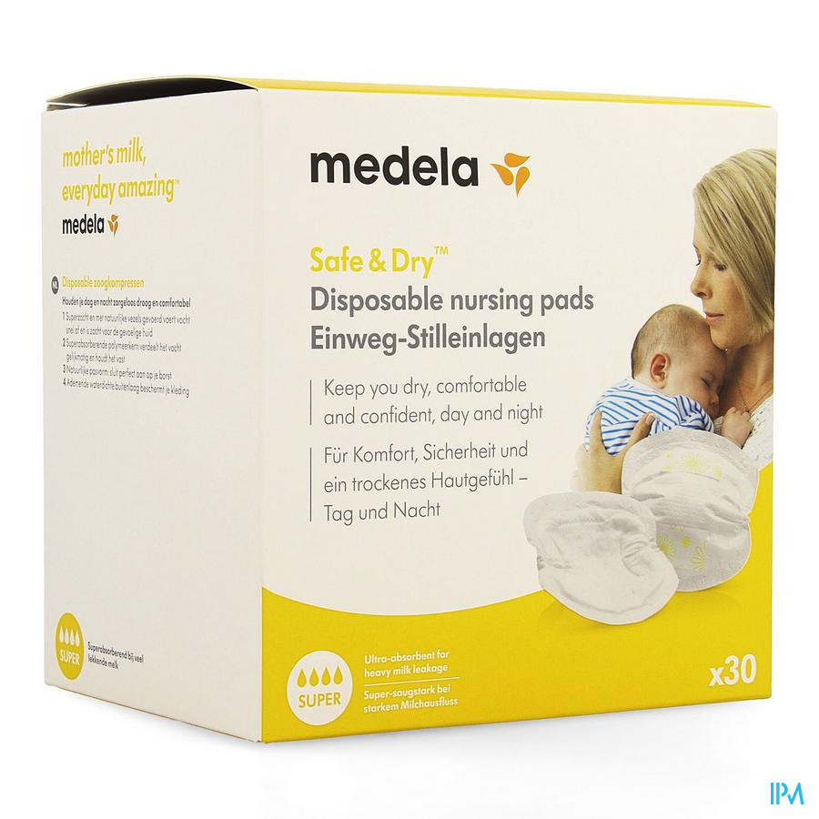 Medela Disposable Zoogkompressen Wegwerp 30