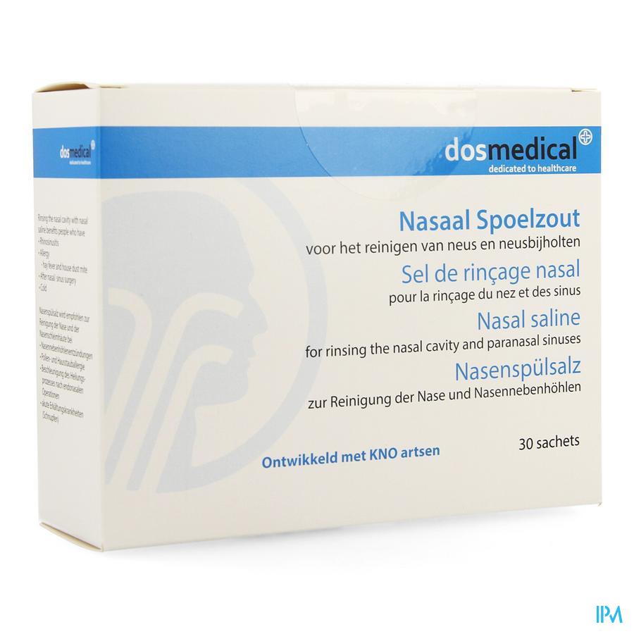Dos Medical Sel Rincage Nasal Sach 30x2,5g
