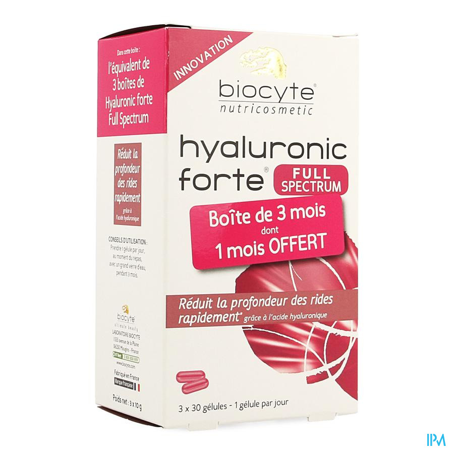 Biocyte Hyaluronic Forte Full Spectrum Caps 90