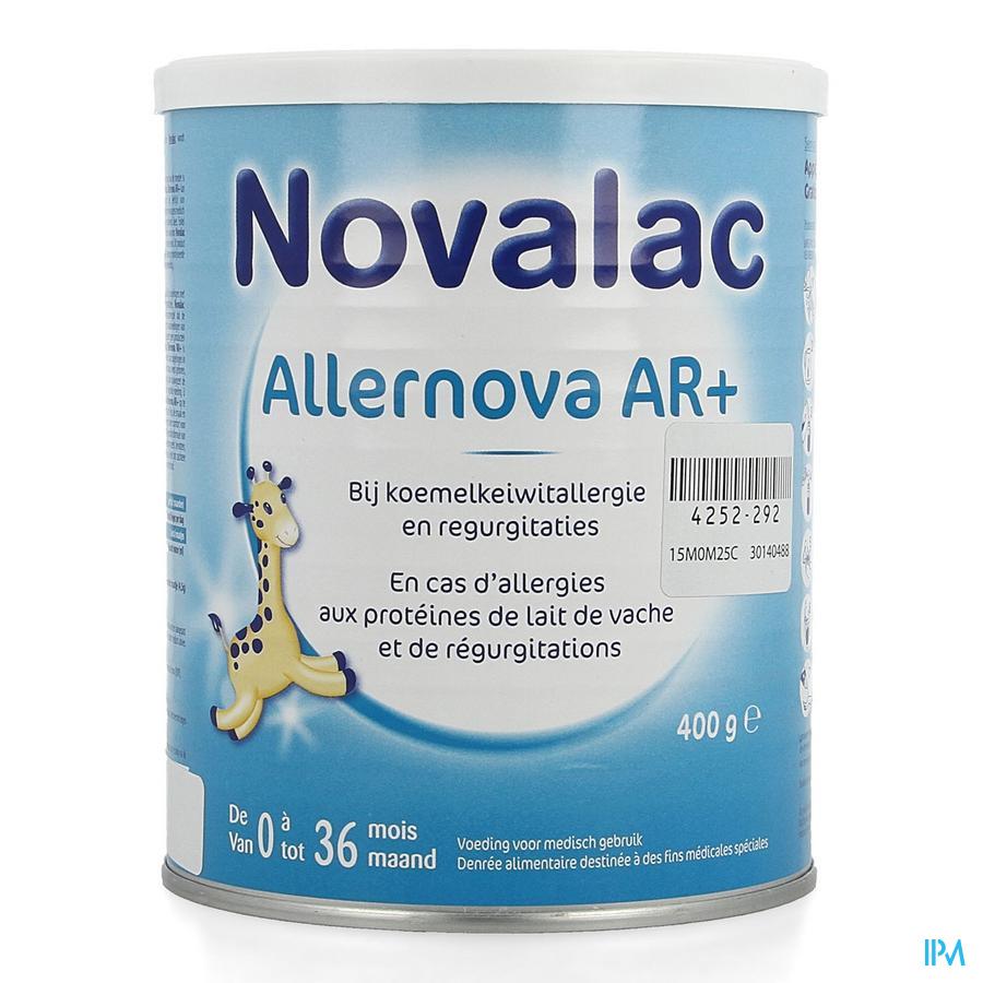 Novalac Allernova Ar+ 0-36m Pdr 400g