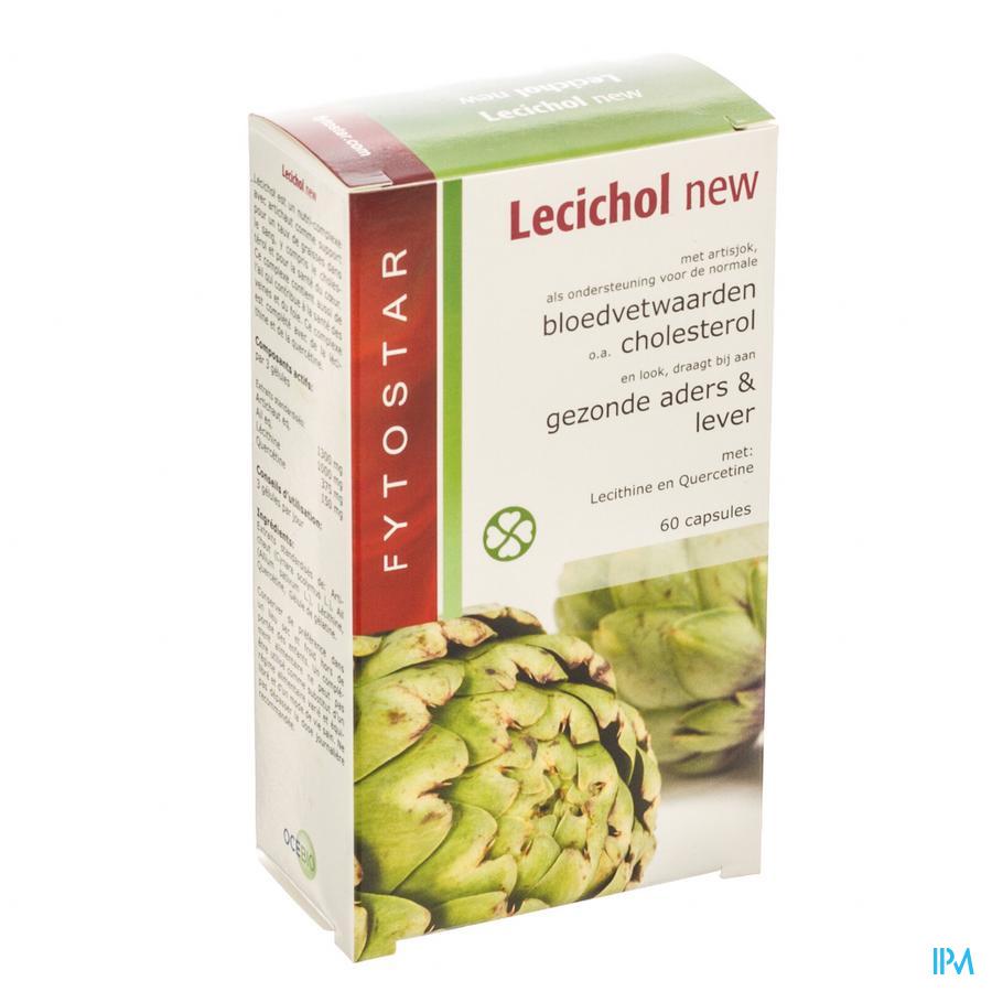 Biostar Lecichol Cholesterol Caps 60