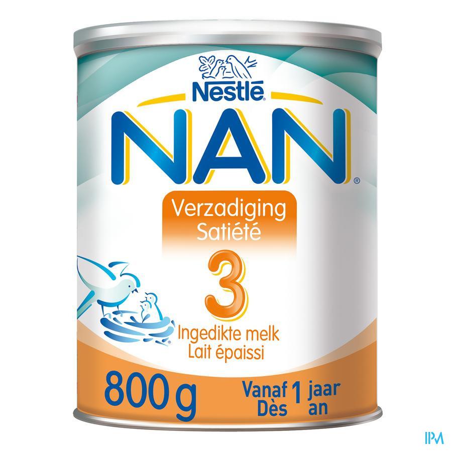 Nan Satiete-verzadiging 3 Pdr 800g