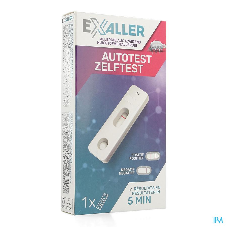 Exaller Self Test Huisstofmijtallergie