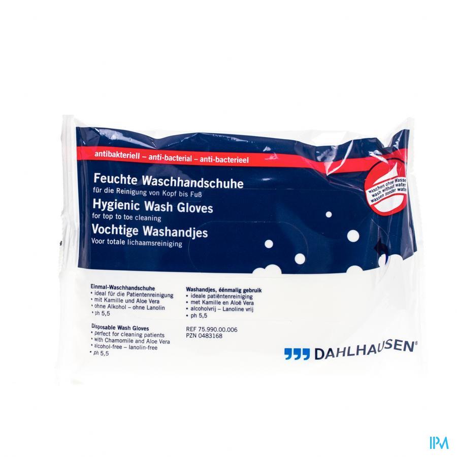 Dialex Vochtige Washandjes A/bacterieel 8