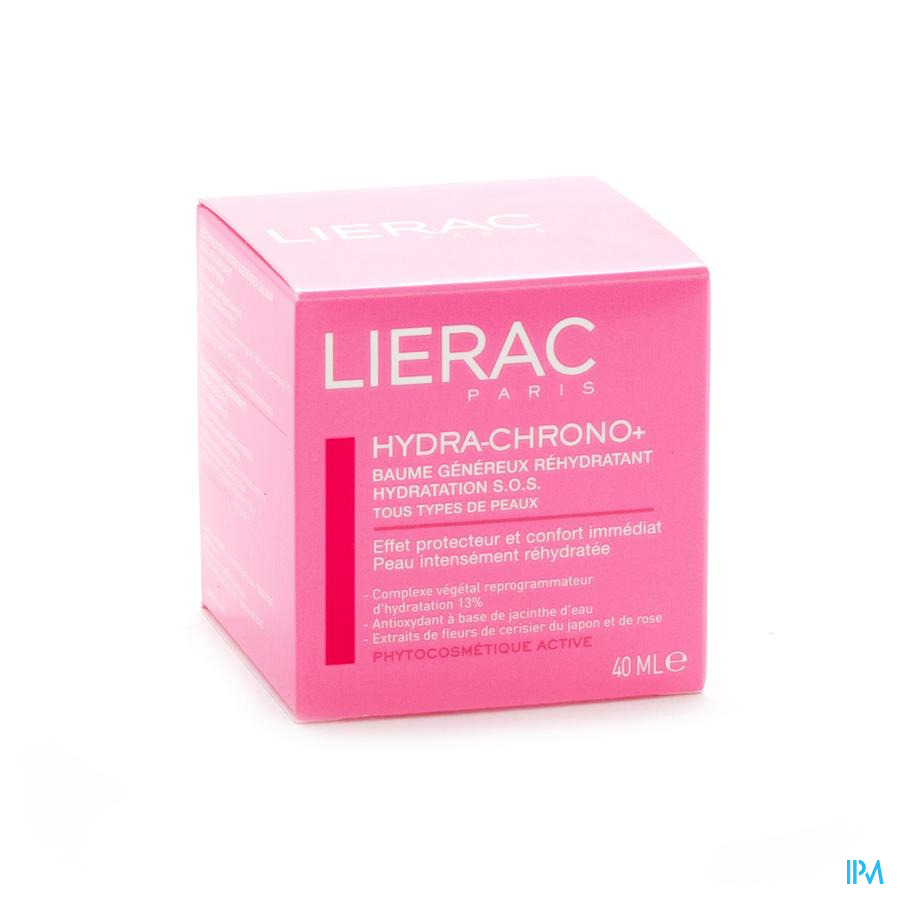 Lierac Hydra Chrono+ Baume Ttp Pot 40ml