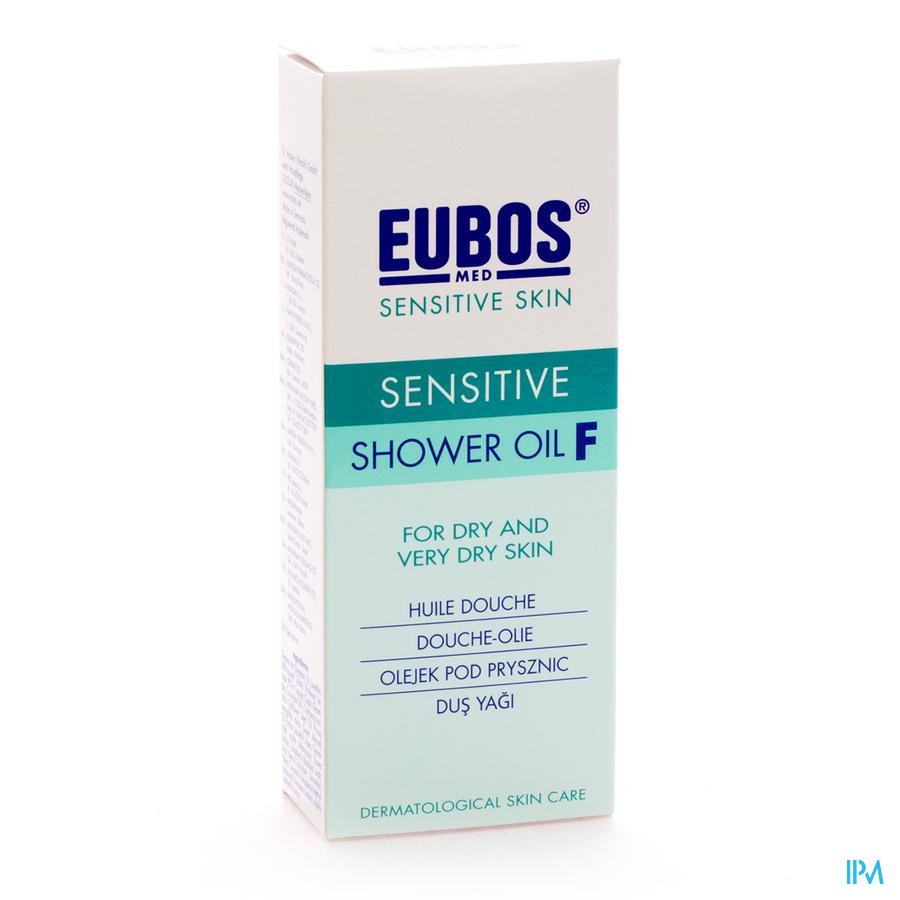 Eubos Douche Olie F Sensitive 200ml
