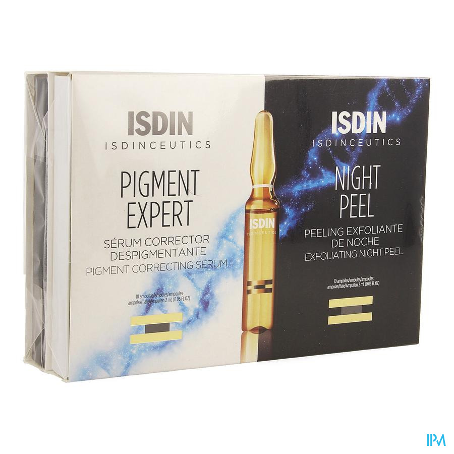 Isdinceutics Night Peel&pigm. Expert Amp 2x10x2ml
