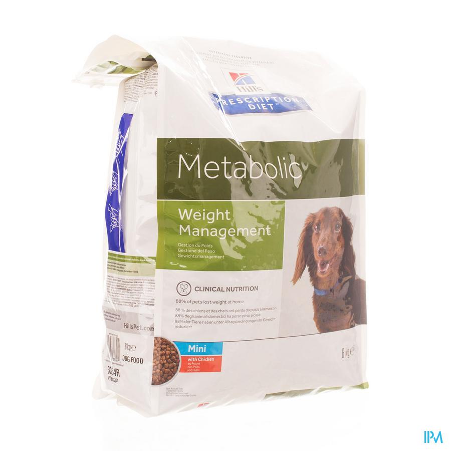Prescription Diet Canine Metabolic Mini 6kg