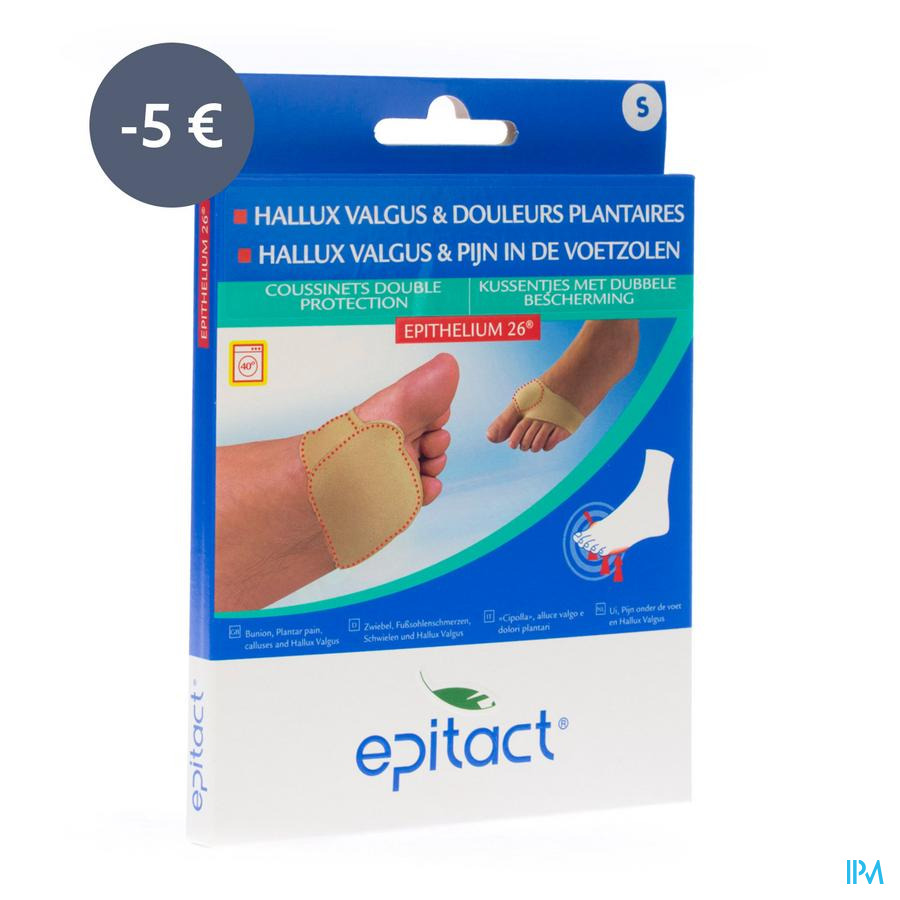 Epitact Coussinet Double Protection S Promo -5€