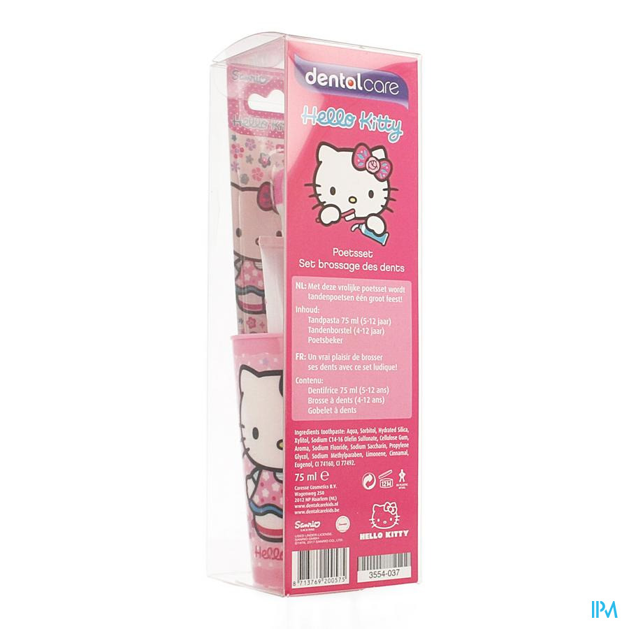 Dental Care Hello Kitty Poetsset
