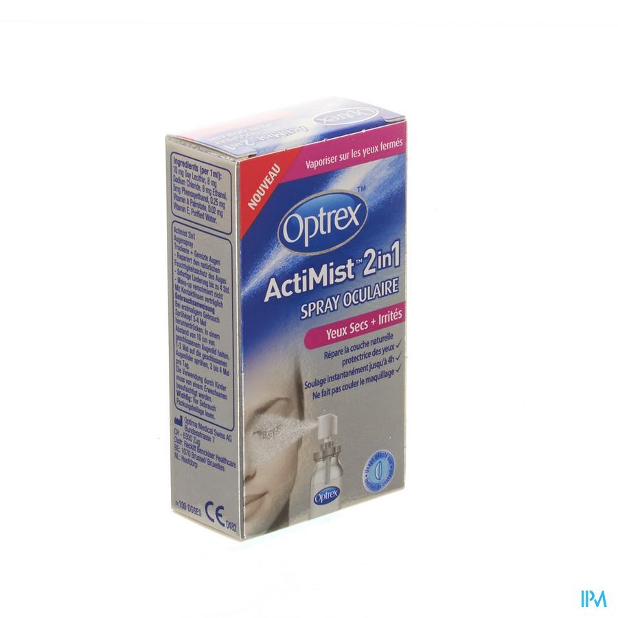 Optrex Actimist Spray Ocul. Yeux Secs-irrites 10ml