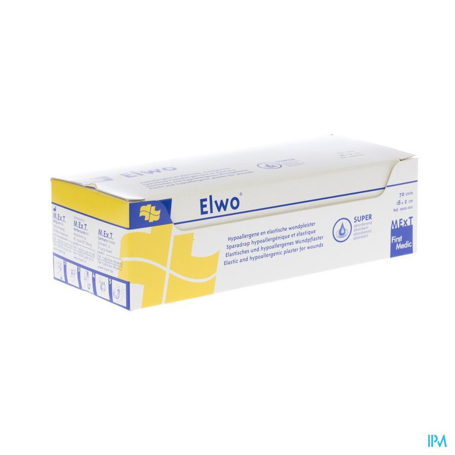 Elwo Pansement Elast Brun 2,0cmx18cm 70 0020022