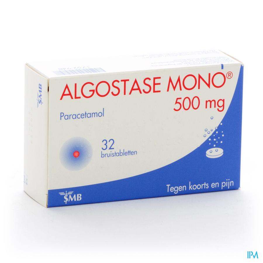 Algostase Mono 500 Tube 2 X 16 Comprimés Eff