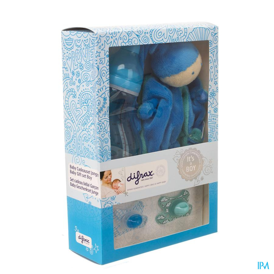 Difrax Set Cadeau Baby Jongen