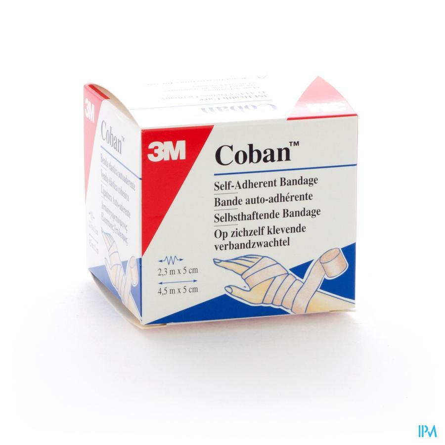 Coban 3m Rekverband Tan 5,0cmx4,57m Rol 1 1582p