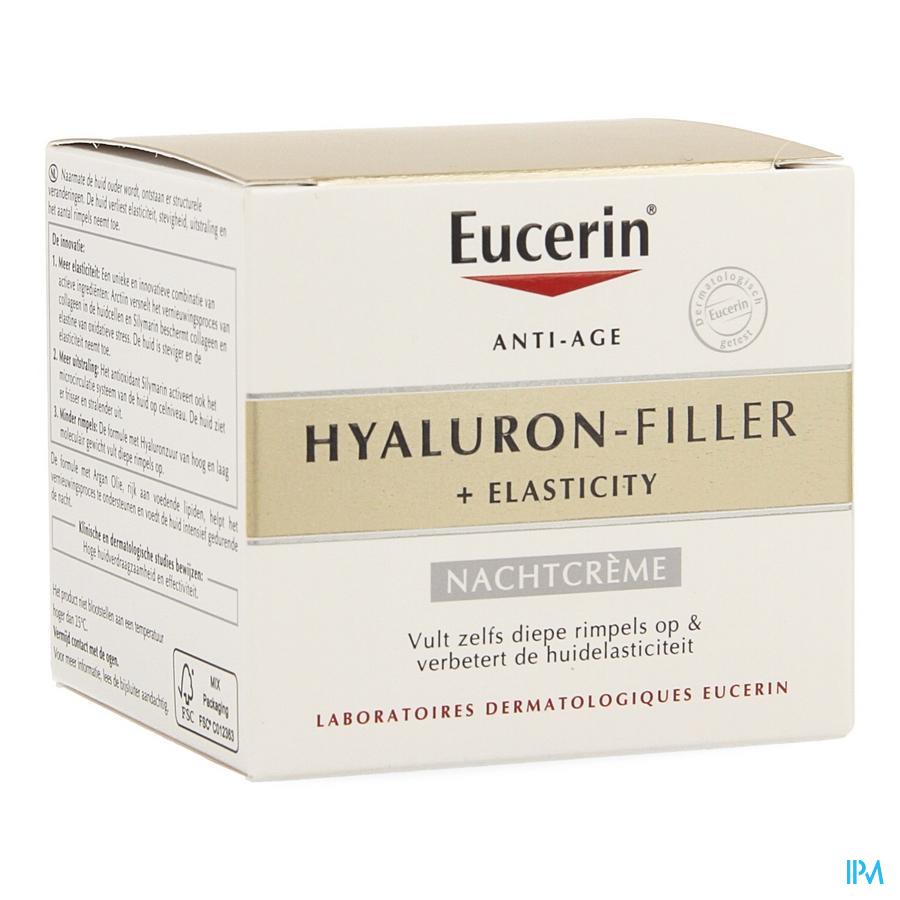 Eucerin Elasticity+ Filler Nachtcreme 50ml