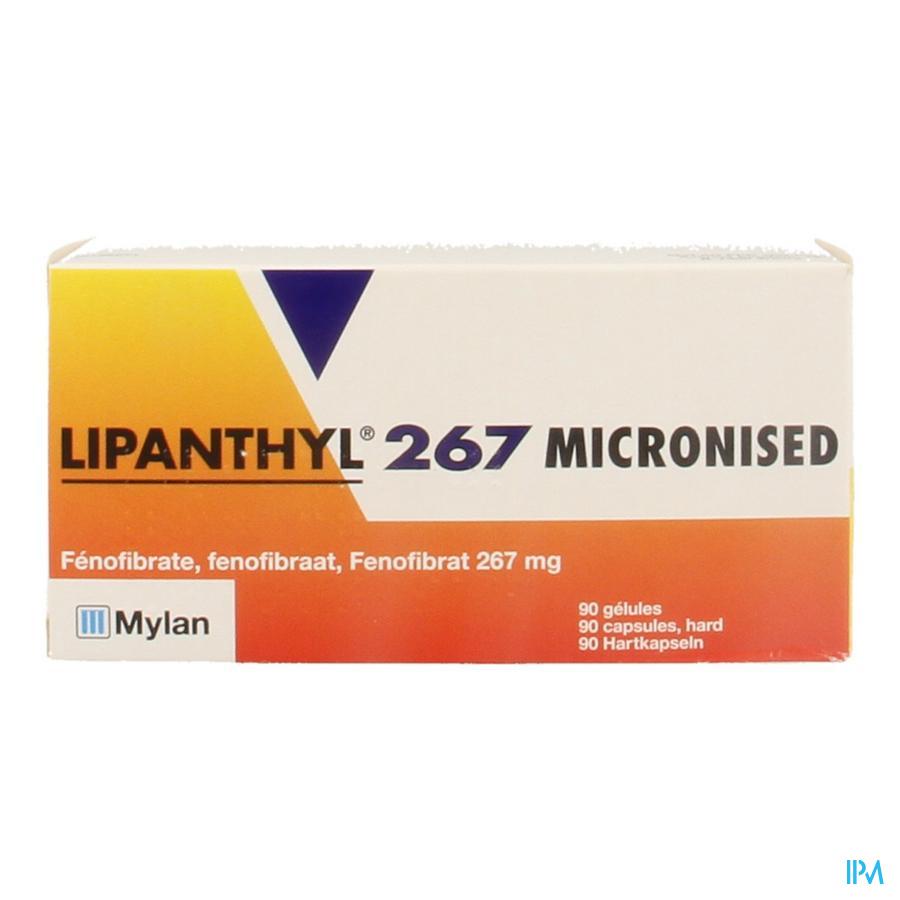 Lipanthyl 267 Micron Caps 90x267mg