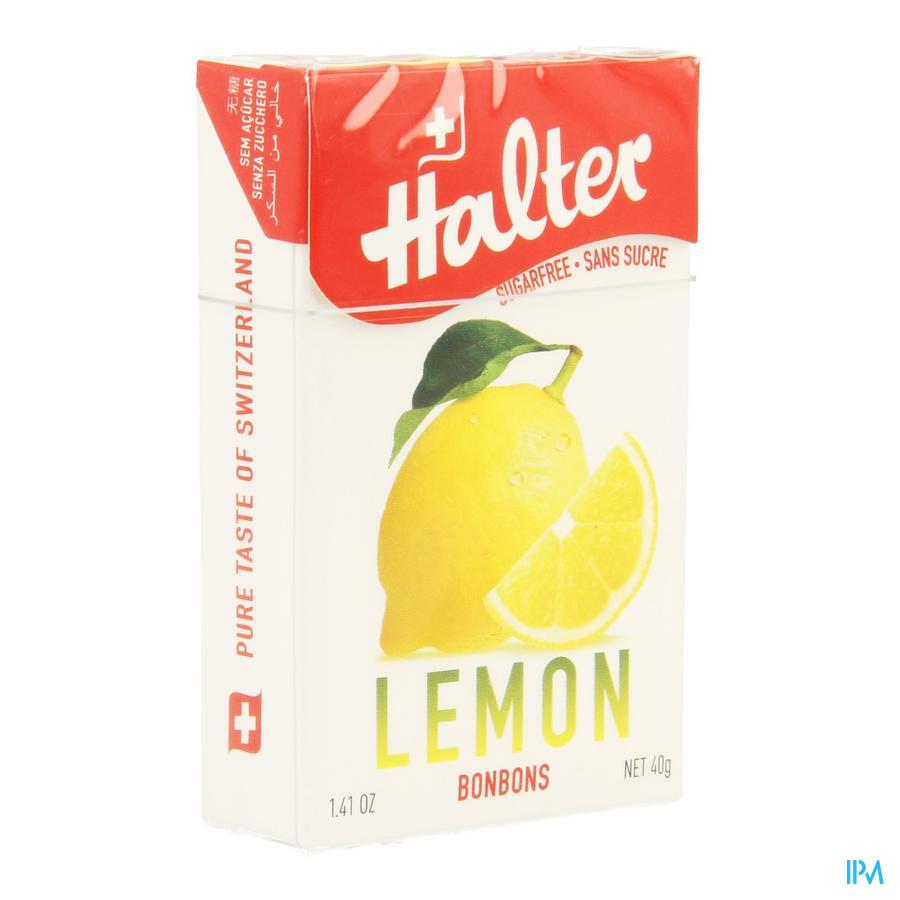 Halter Bonbon Citron Ss 40 gr