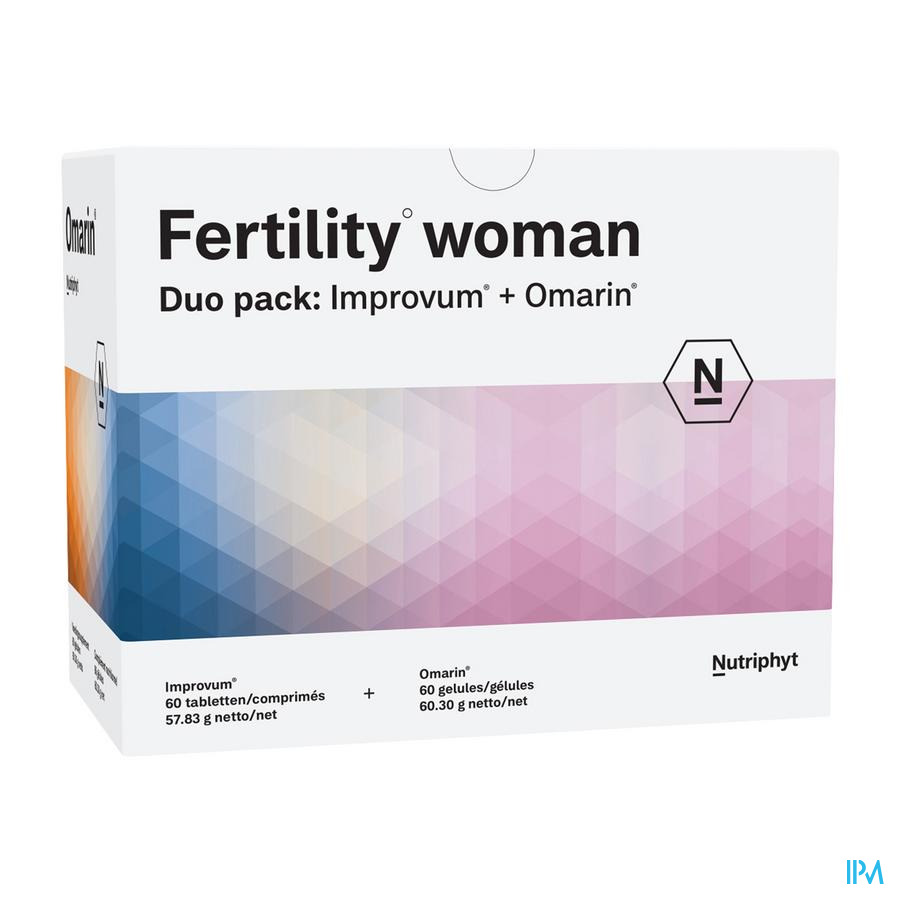 Fertility woman Duo 60 tab Improvum +60 softgels Omarin
