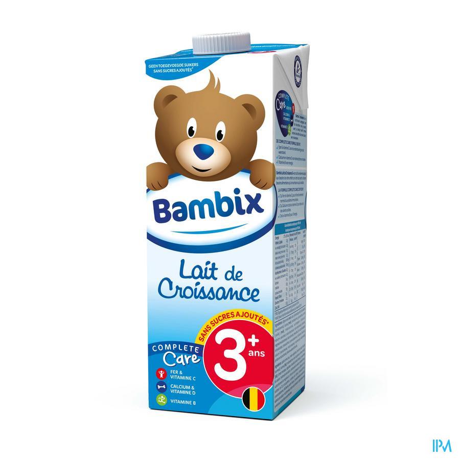 Bambix Lait Croissance Nature 3+ 1l