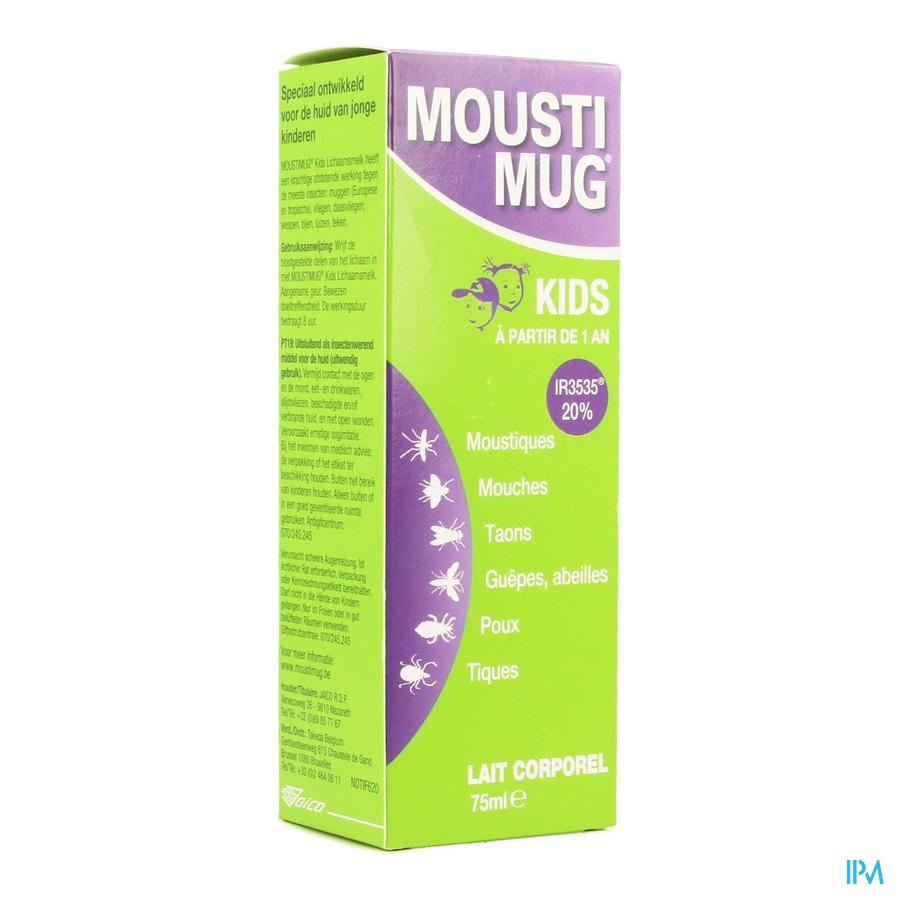 Moustimug Kids Lait Corporel Nf 75ml Rempl.2394666