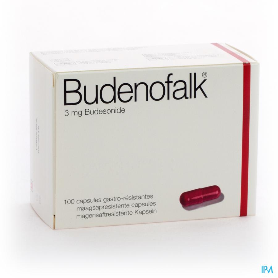 Budenofalk Caps 100 X 3mg