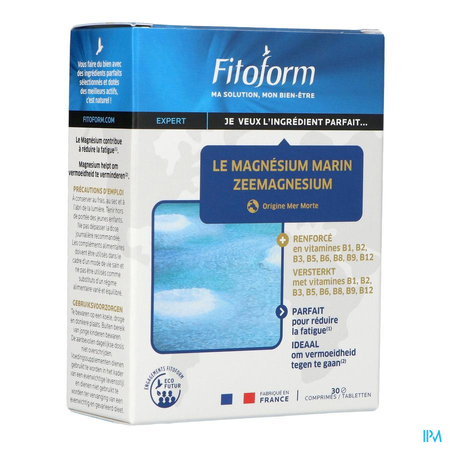 Zee Magnesium + B1 Caps 30 Fitoform