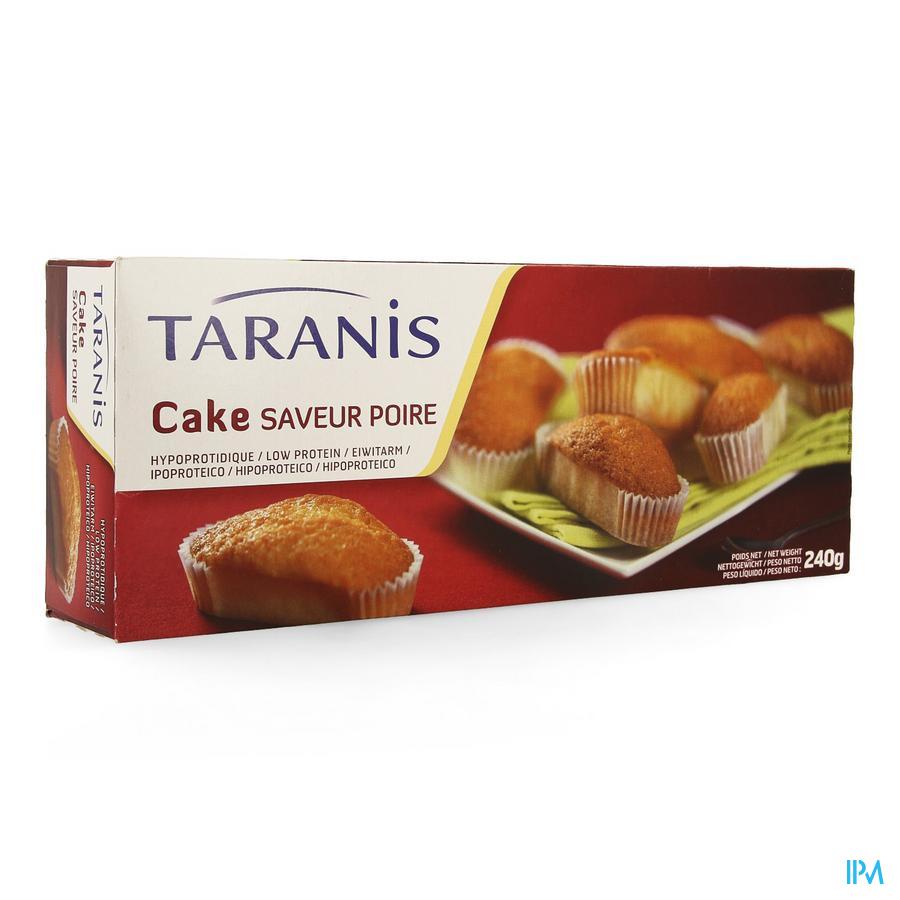 Taranis Mini Cake Peer 240g (6 Stuks) 4655