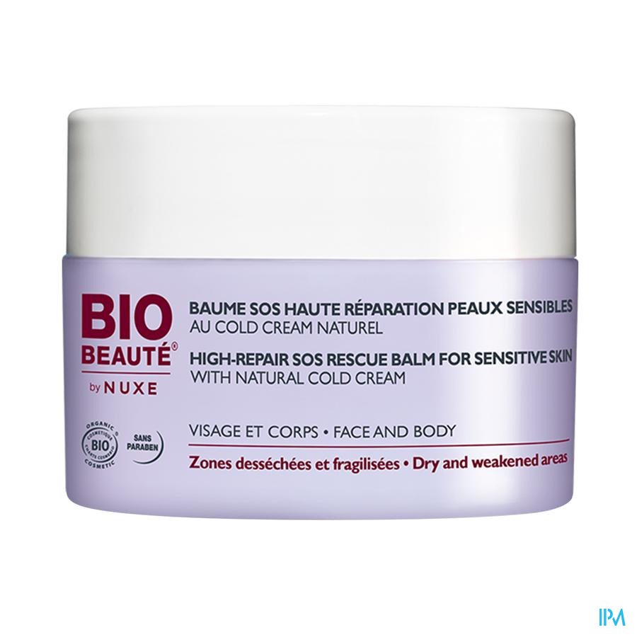 Bio Beaute Coldcream Baume Sos Haute Repar. 50ml