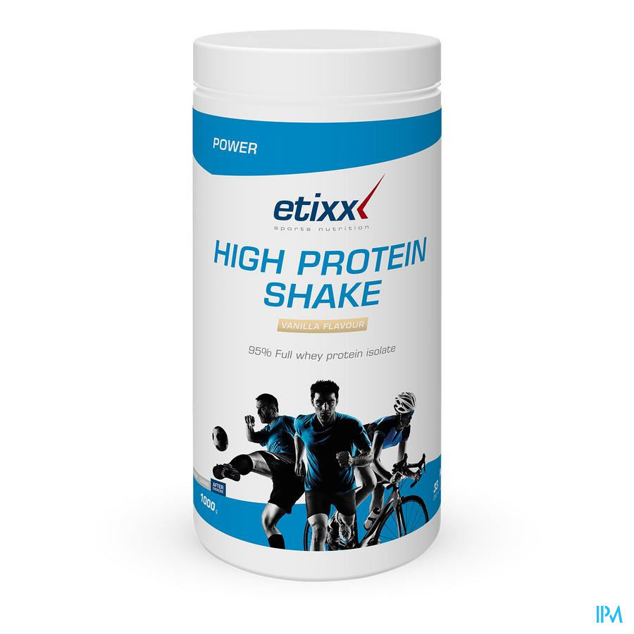 Etixx High Protein Shake Vanilla 1000g