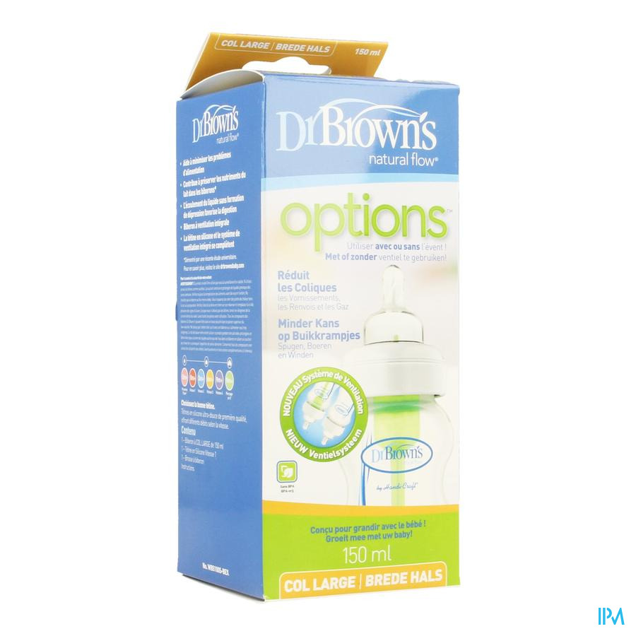 Dr Brown Zuigfles 1x150ml Pp Escos