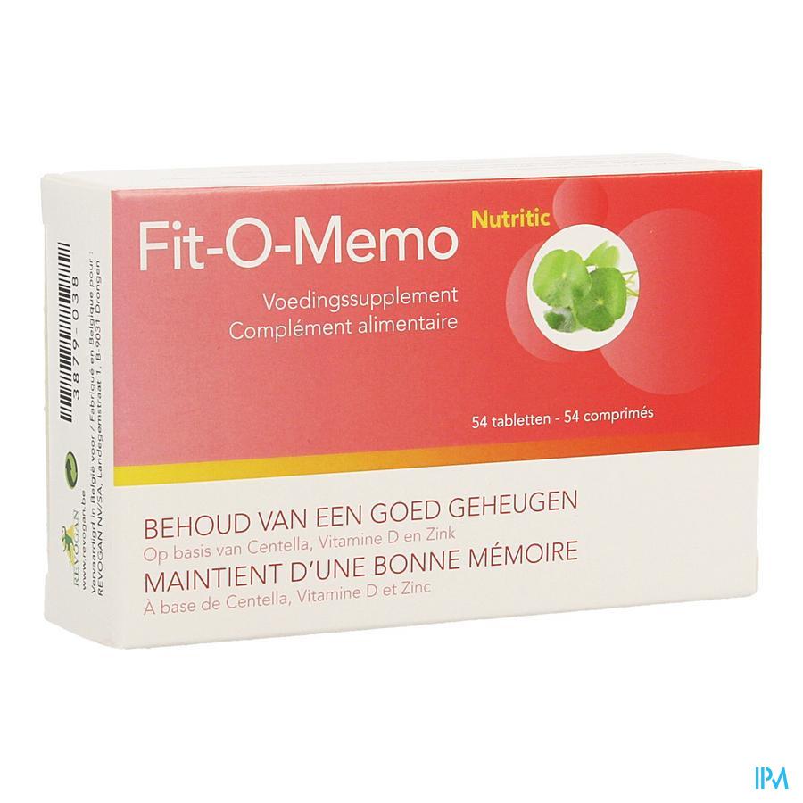 Fit-o-memo Nutritic Comp 54