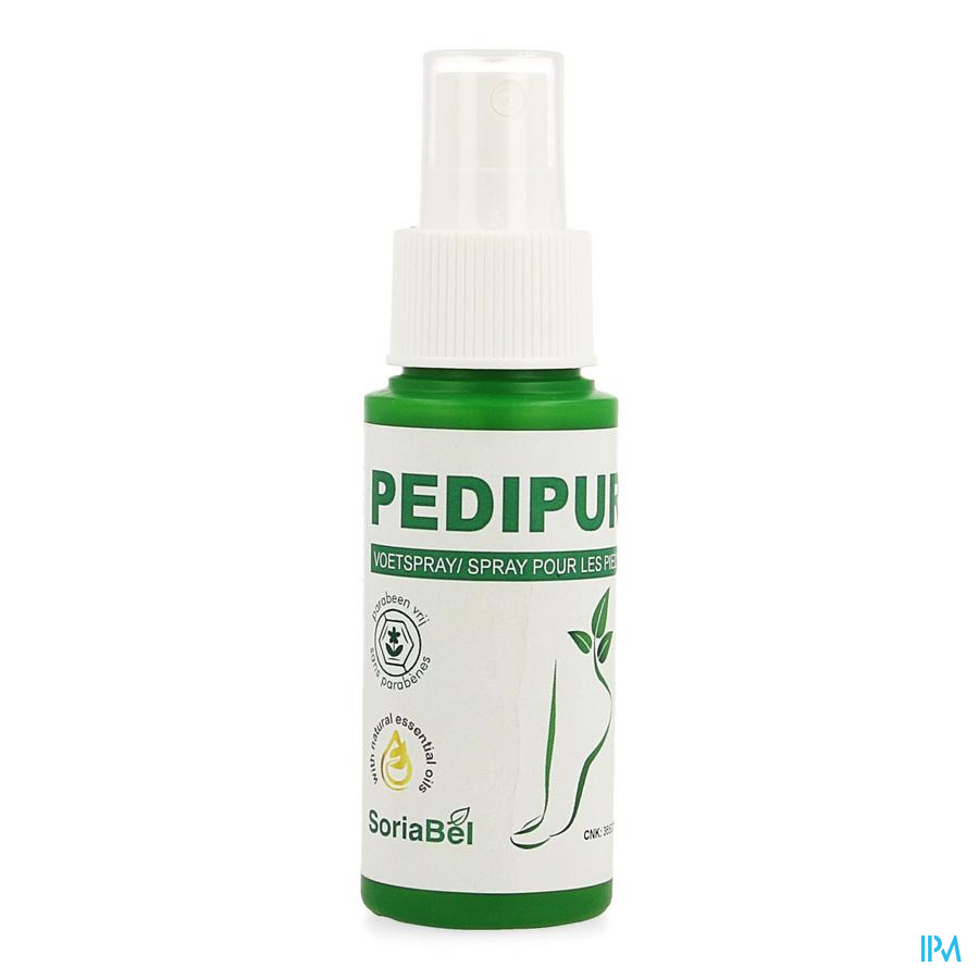 Soria Pedipur Olie Voeten Spray 50ml