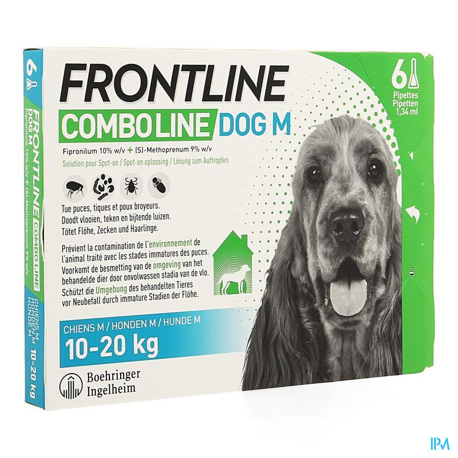 Frontline Combo Line Dog M 10-20kg 6x1,34ml