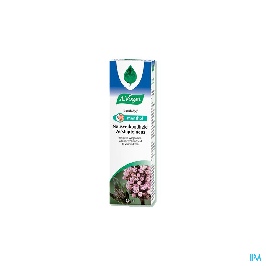 A.Vogel Cinuforce Neusspray Menthol 20ml