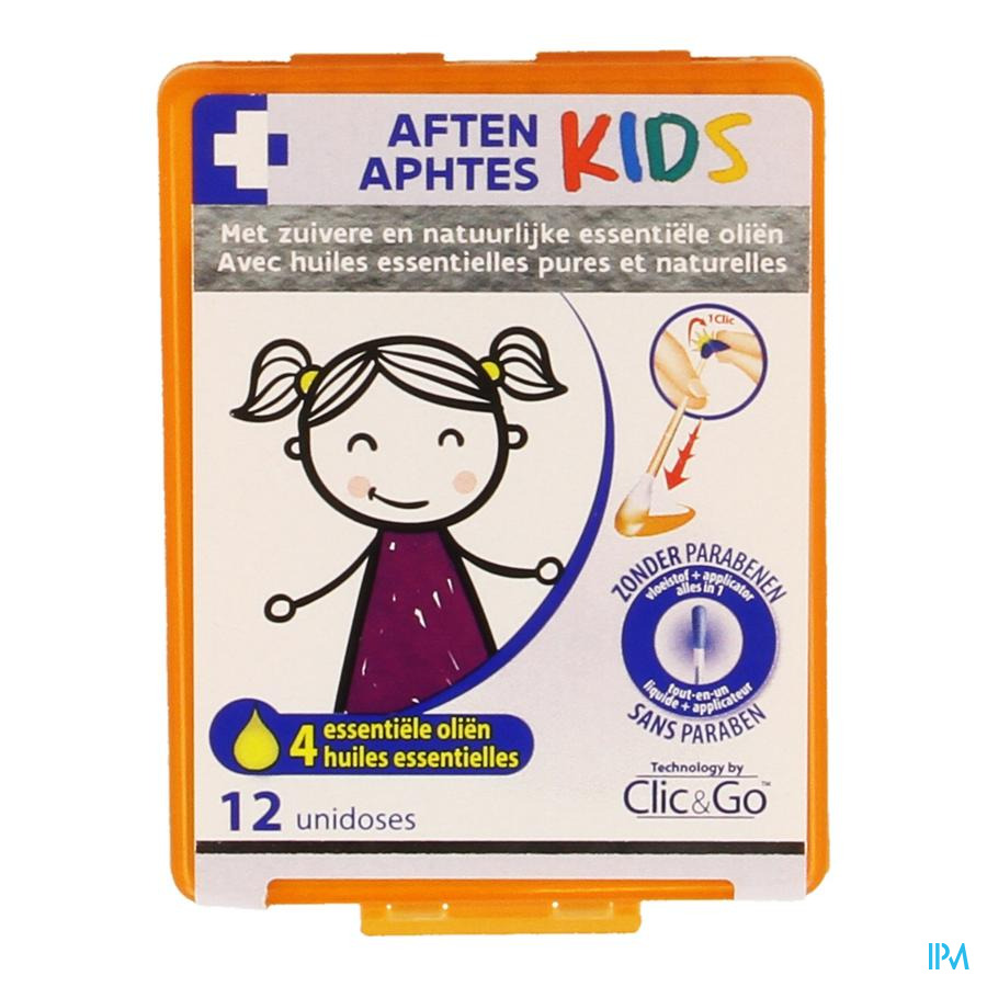 Clic&go Aften Kids Unidosis 12