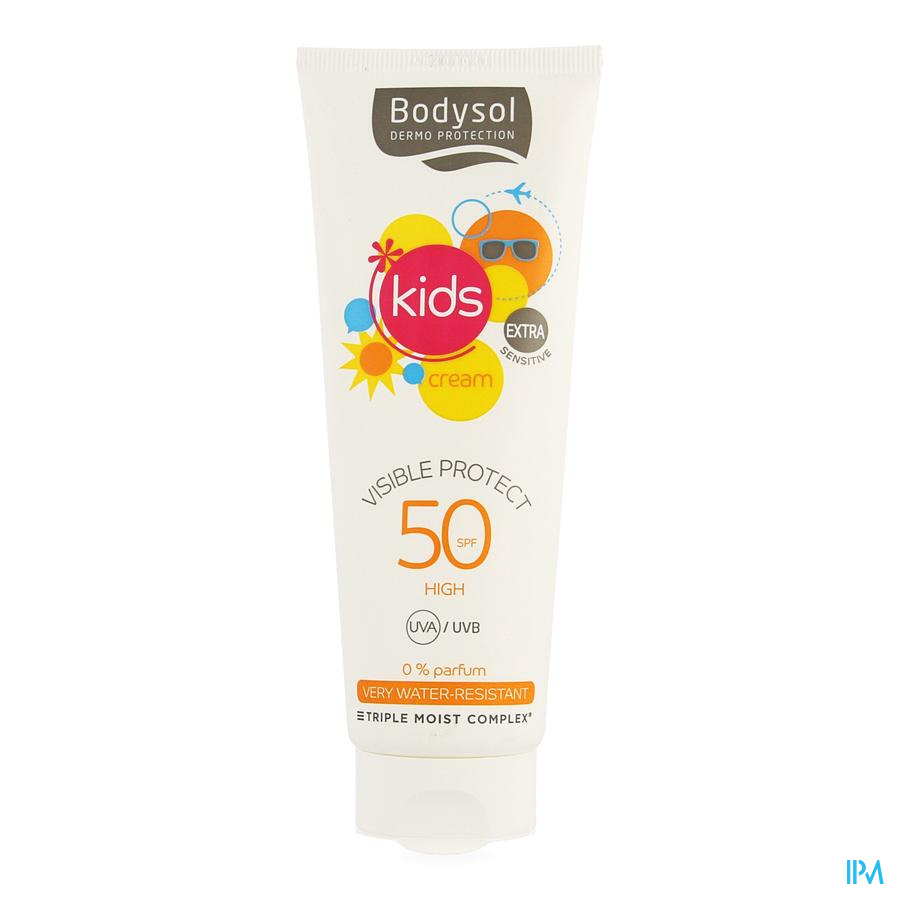 Bodysol Kids Cream Visiprotect Ip50 125ml Nf